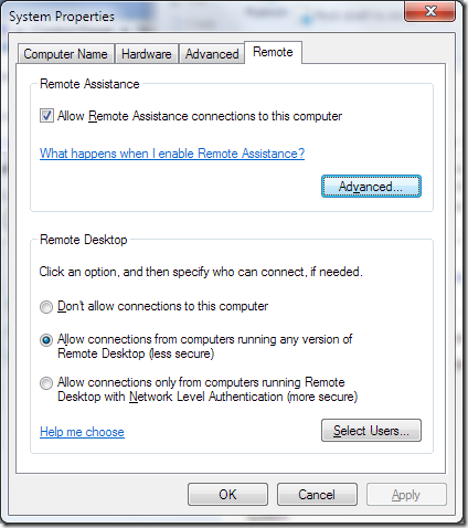 Configure remote desktop service for Windows Server 2008 R2